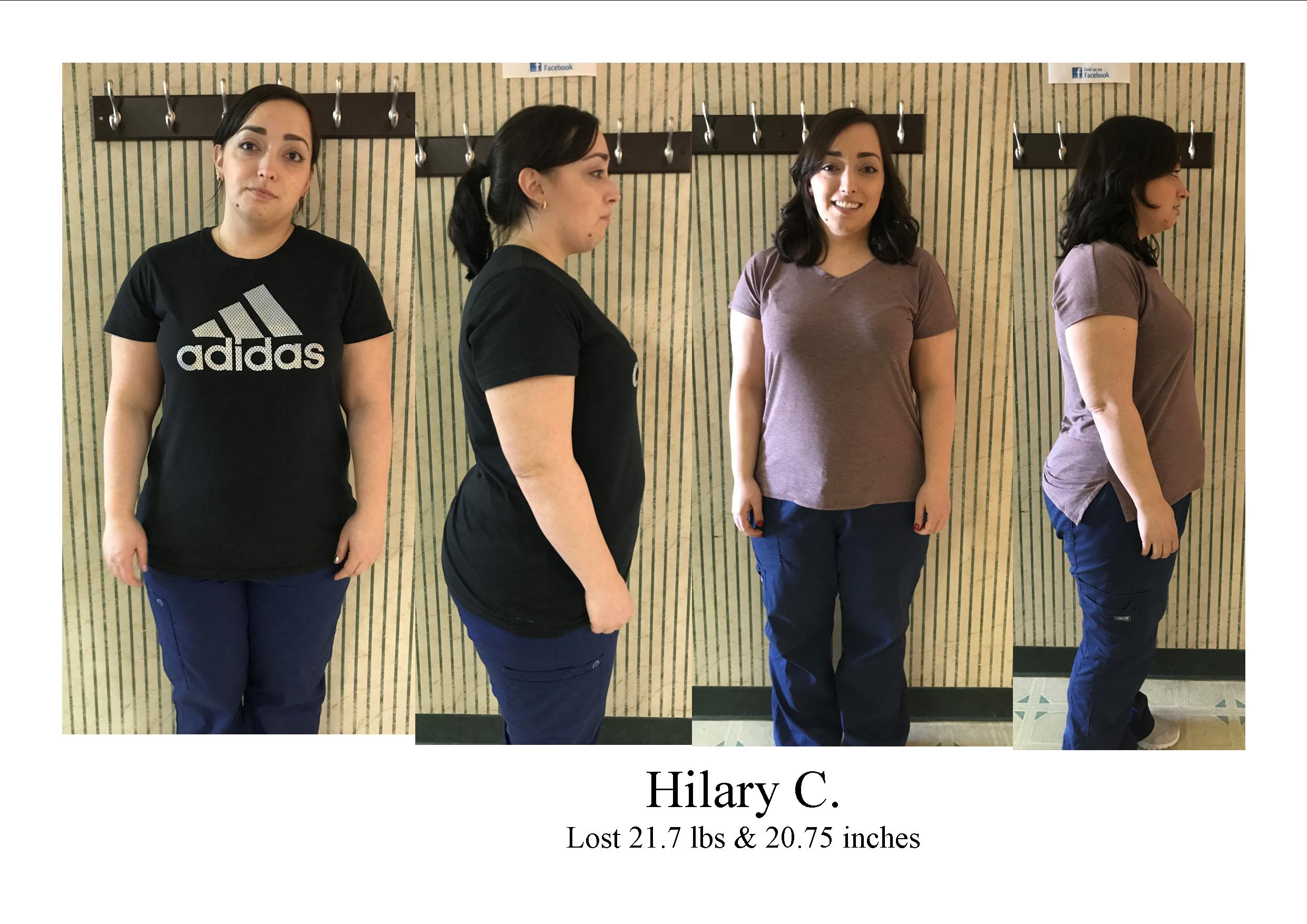 Weight Loss - Hilary C